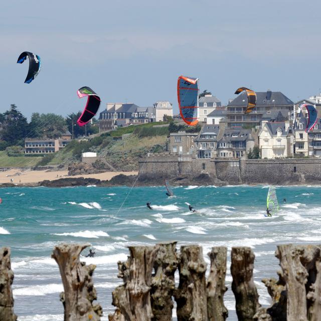 Kite surf à Paramé