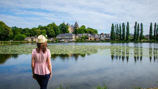 Lac Tranquille du château de Combourg