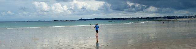 Bon Secours beach, Saint-Malo
