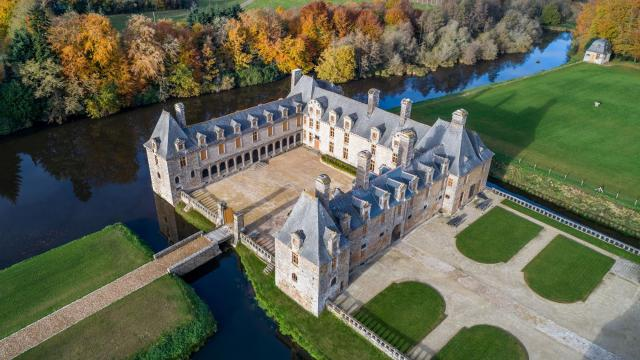 Château Le Rocher Portail, Maen-Roch