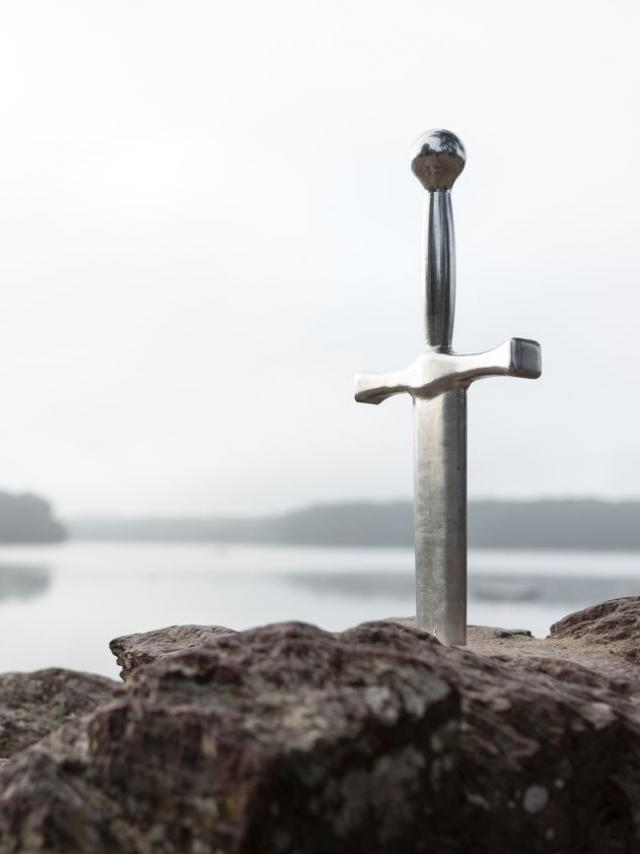 Excalibur, Lac de Trémelin à Iffendic