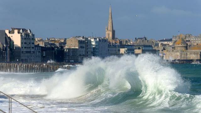 Grandes marées, Saint Malo