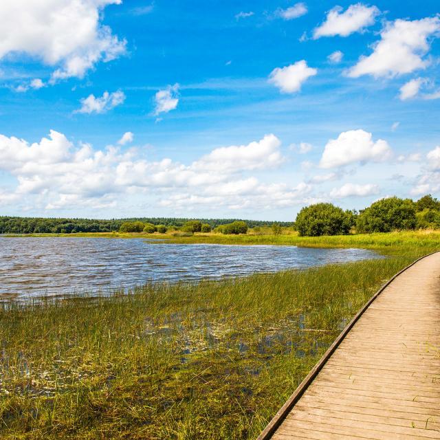 Boulet Lake in Feins