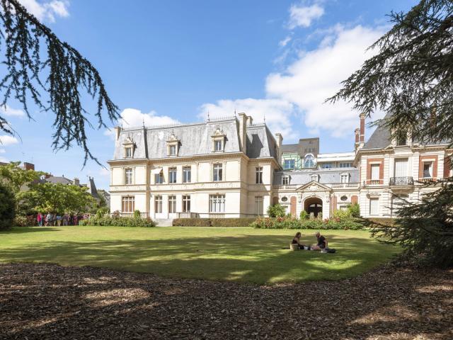 Le parc Oberthür, Rennes