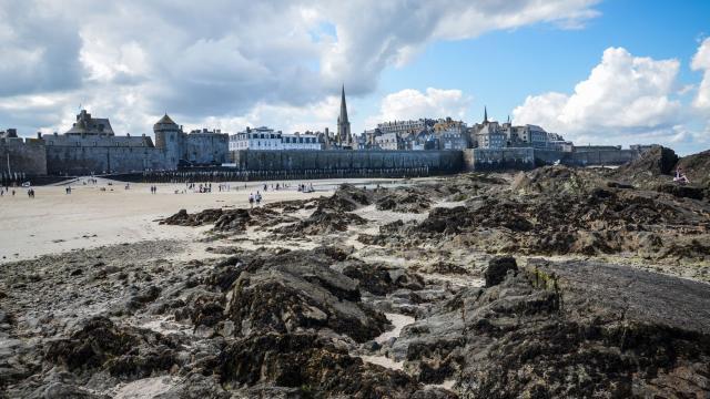 Marée basse, Saint-Malo