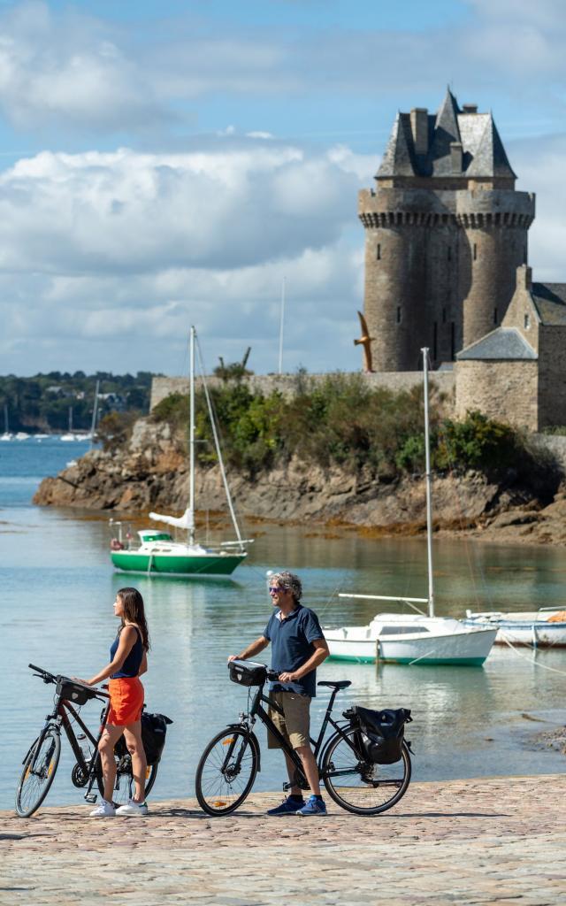 la Vélomaritime®, Tour solidor, Saint-Malo