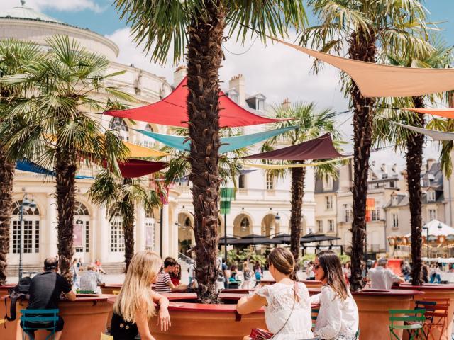 Transat en ville, Place de la mairie, Rennes