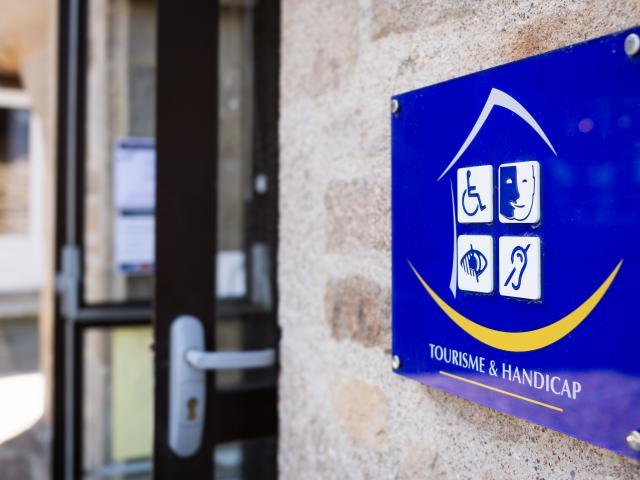 Panneau Tourisme & Handicap