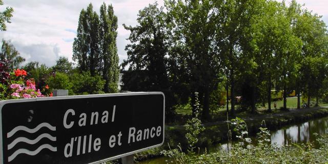 Le canal d'Ille-et-Rance