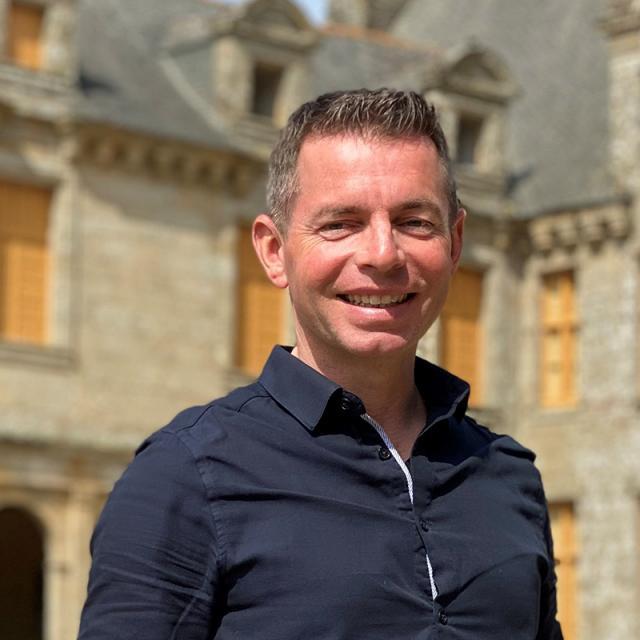 Manuel Roussel, propriétaire du château Le Rocher Portail