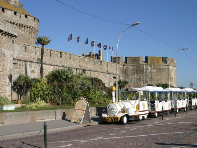 Petit train touristique, Saint-Malo
