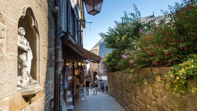 Ruelle au Mont Saint-Michel