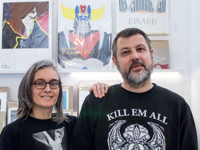 Sandrine Sauveur et Thierry Huon