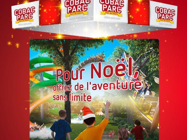 Offre Noël à Cobac Parc