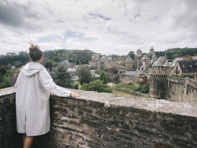 Remparts du Château de Fougères