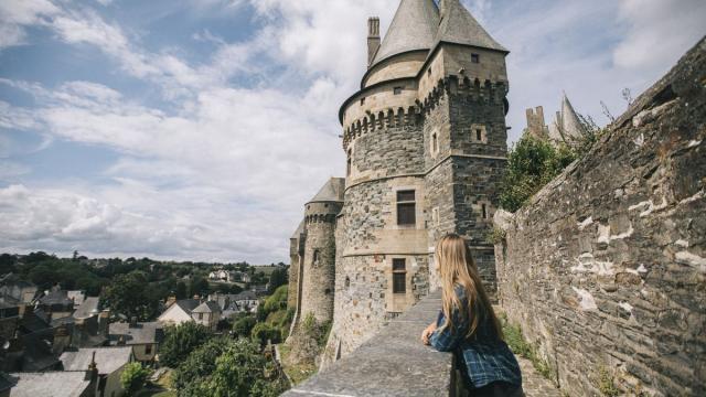 Remparts du château de Vitré