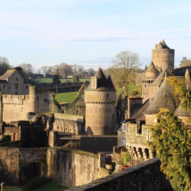 Château et remparts, Fougères