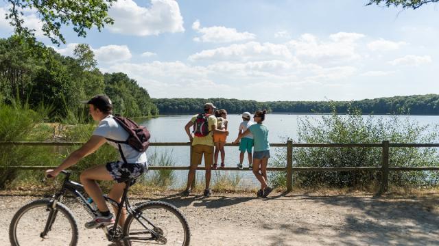 Balade au lac de Trémelin en famille