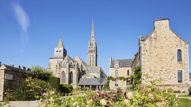 la Guerche de Bretagne, la basilique N.D de l'Assomption