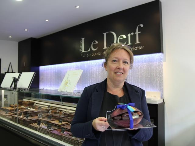 Bruno Le Derf, chocolatier