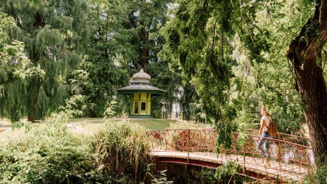 Vitré, Jardin des plantes