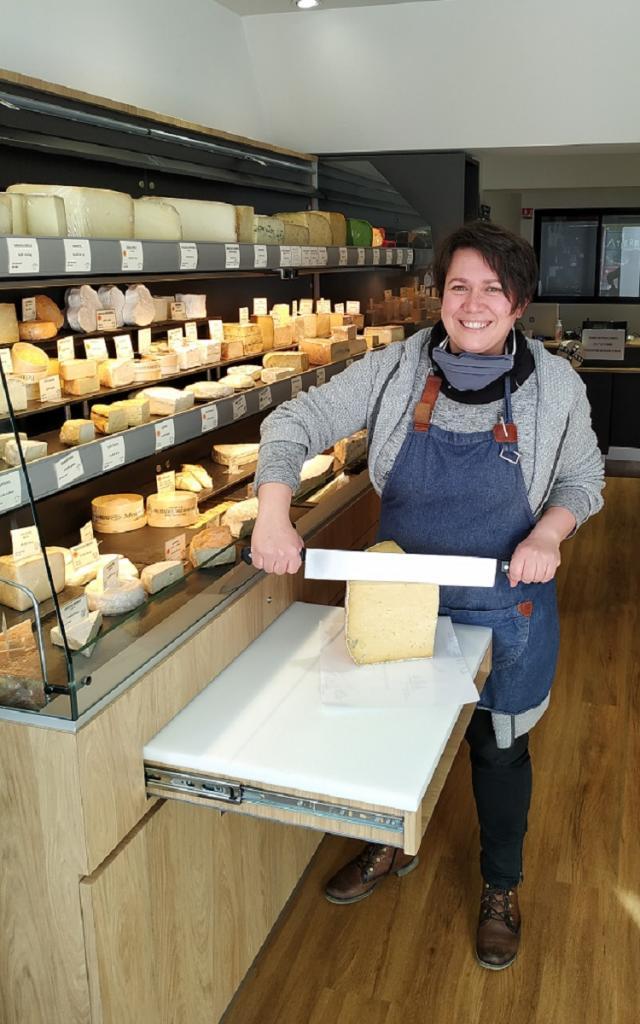 Delphine Latierre, artisan fromagère, Châteaugiron