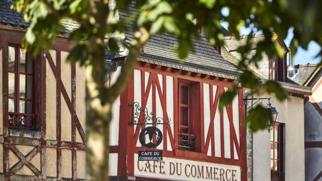 La Guerche de Bretagne, Maisons à pan de bois
