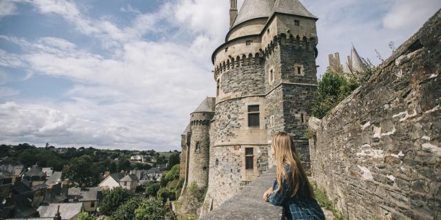 Remparts du château, Vitré