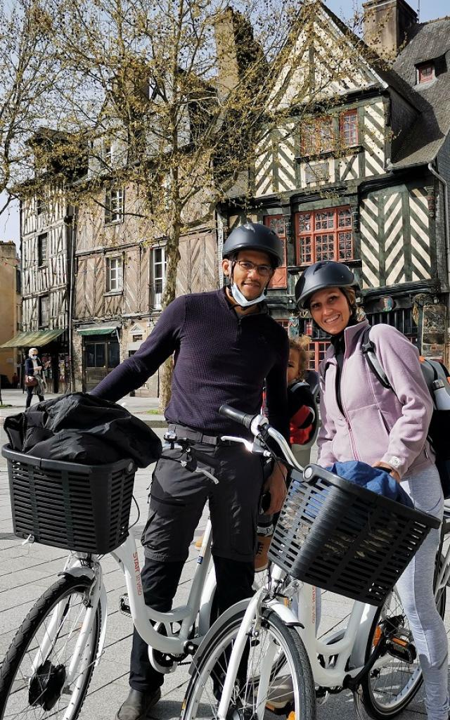 Balade à vélo, Oh ! Détour, Rennes