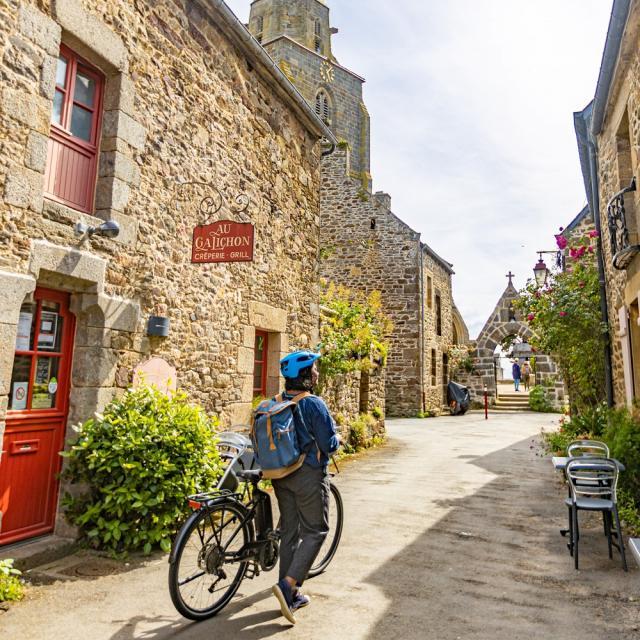 Le village de Saint-Suliac