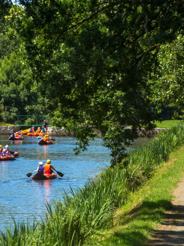 En vélo, en canoë-kayak ou à pied : toutes les modes de randonnées sont à expérimenter le long du canal de Nantes à Brest