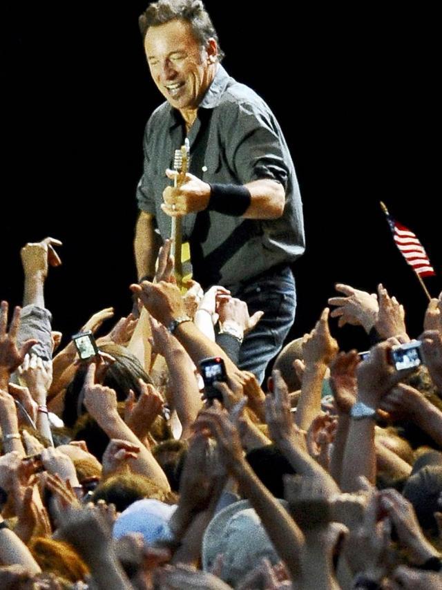 Venue exceptionnelle de Bruce Springsteen au Festival des Vieilles Charrues, en 2009, avec un concert inoubliable
