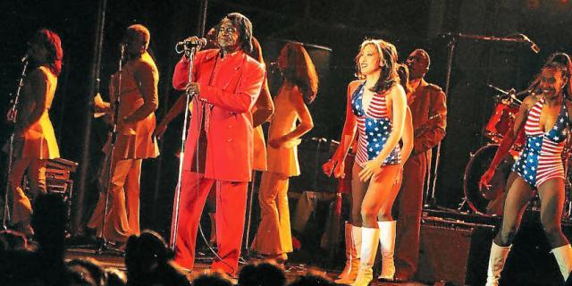 James Brown en 1997