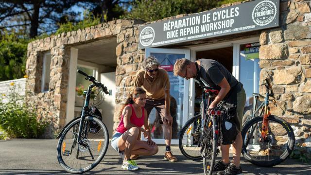 Location et réparation de vélos
