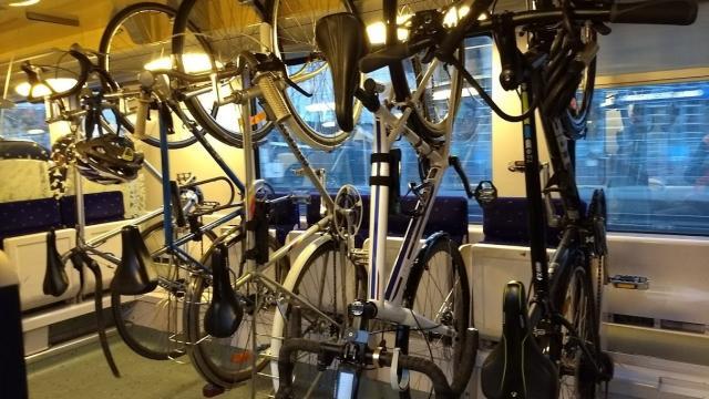 Rack à vélos TER Bretagne