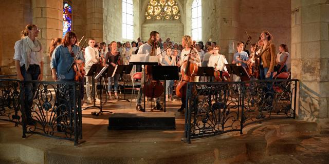Concert à l'Eglise de Plouguer