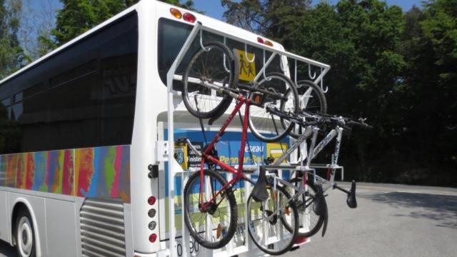 Rack à vélos - Cars interurbains Penn ar Bed