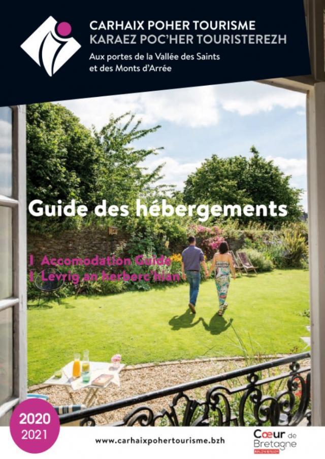 Couverture Guide Hébergements 2020