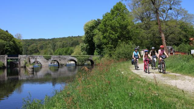 Balade à vélo au bord du Canal
