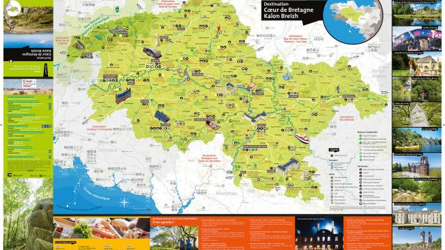 2020 Carte Cœur De Bretagne Kalon Breizh Recto 1