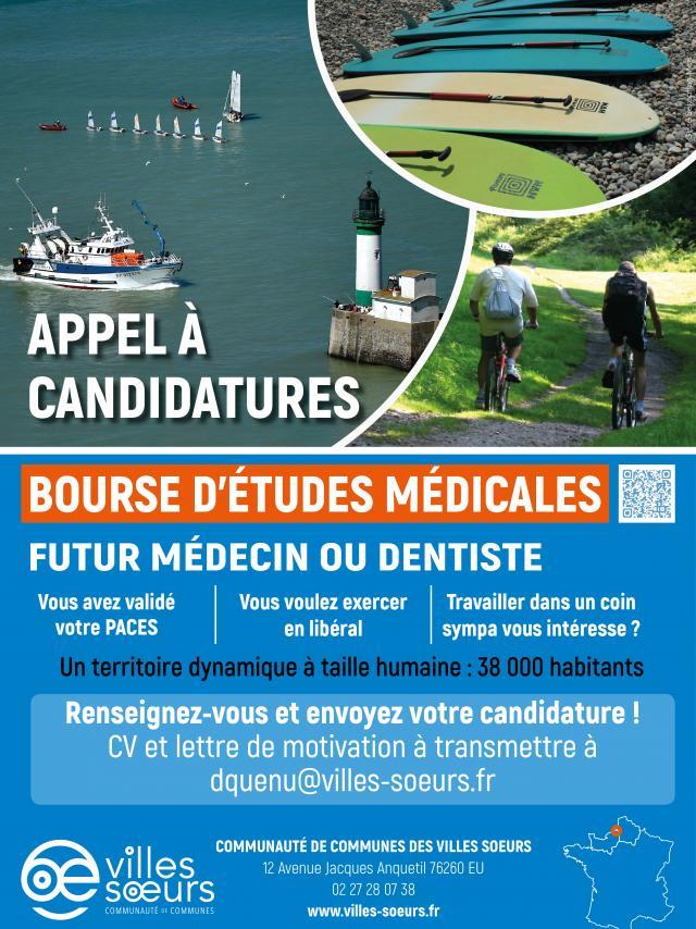 Affiche Bourse Médicale 2020