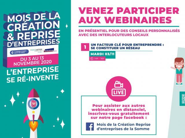 Webinaire 3 Novembre 2020 Constituer Un Réseau Facteur Clé Pour Entreprendre