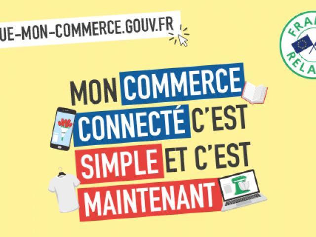 Clique Mon Commerce.gouv