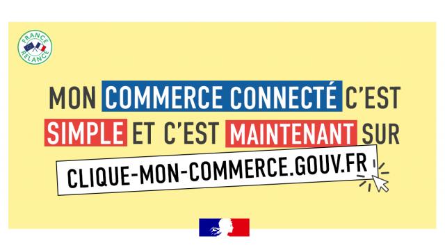 Clique Mon Commerce.gouv.fr