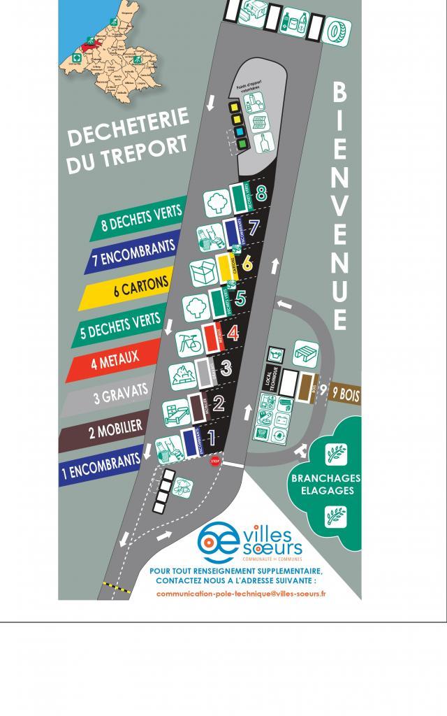 Plan Déchèterie Le Tréport Site Internet