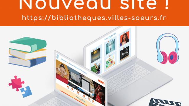 Nouveau site web du réseau des bibliothèques