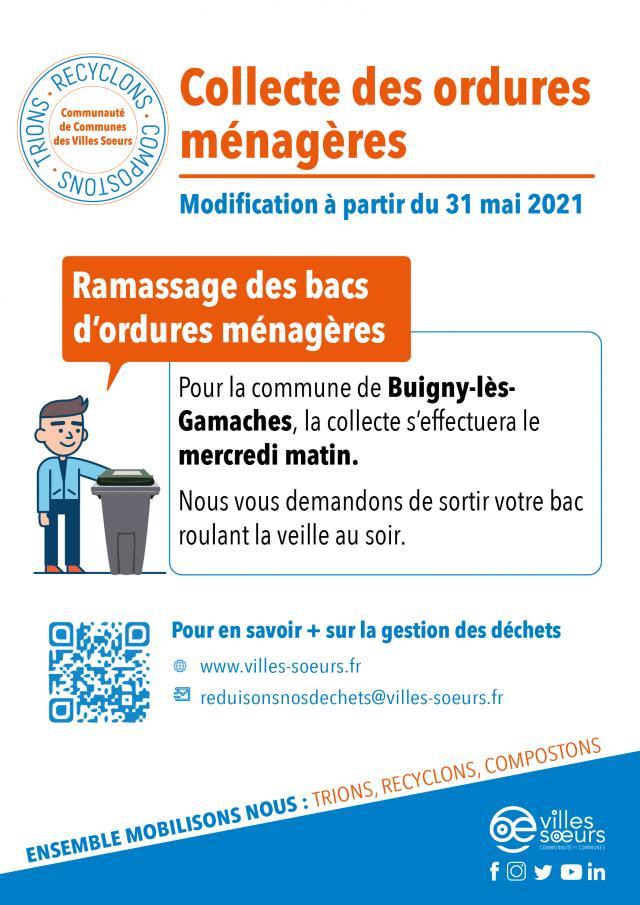 Collecte Des Bacs Roulants Buigny Les Gamaches