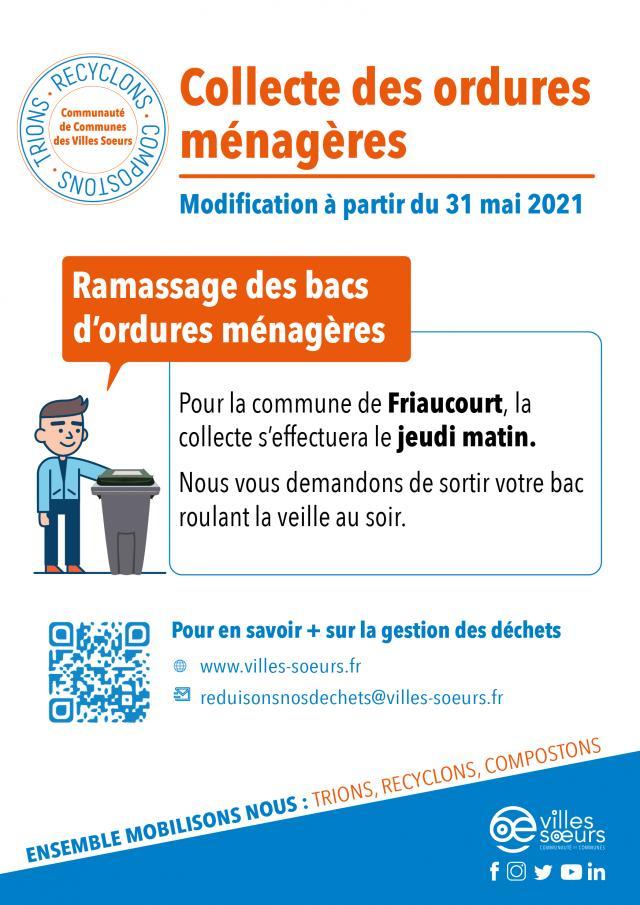Collecte Des Bacs Roulants Friaucourt