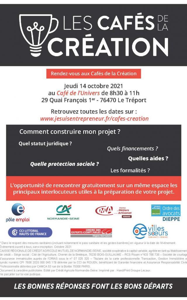 Cafe De La Creation 14 Octobre 2021 Le Treport