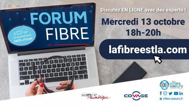 Mercredi 13 octobre 221 - Forum Fibre